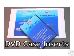 how to create dvd case insert covers prolabel com