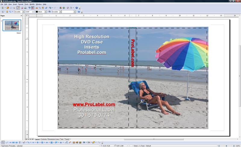 free software for creating dvd and blu ray case inserts